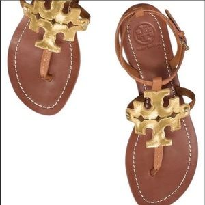 Tory Burch Chandelier sandals, size 8